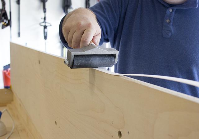 diy murphy bed wood veneer