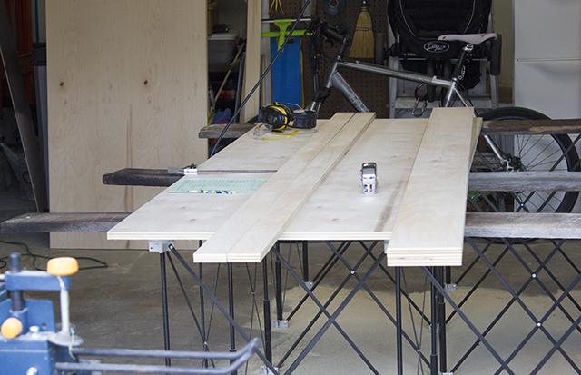 murphy bed lumber