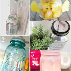 Great decorative mason jar ideas anyone can do!