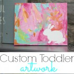 Custom Toddler Artwork