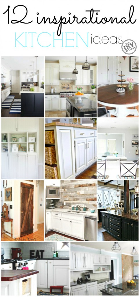 12 Inspirational kitchen ideas . So ready to get our kitchen remodel going, but first more inspiration!