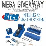 Kreg K5 Giveaway & Creativity Unleashed No. 122