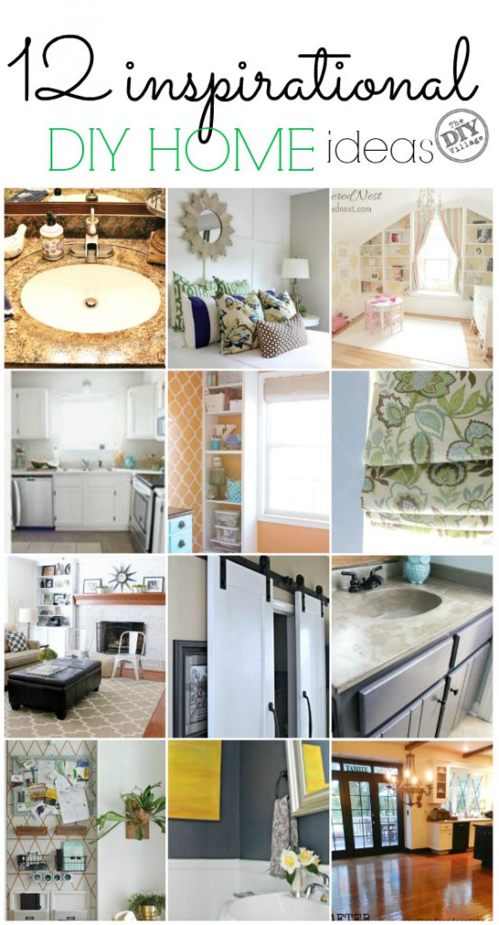 12 inspirational diy home ideas to get