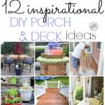 12 Inspirational DIY Porch and Deck Ideas