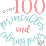 All Things Creative – Over 100 Printables