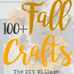 Over 150 amazing Craft ideas for Fall and Halloween. It's like one stop shopping! Who doesn't love fall crafts?