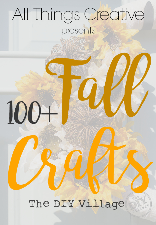 Over 150 amazing Craft ideas for Fall and Halloween. It's like one stop shopping for fall crafts ideas