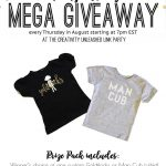 Adorable Toddler & Kid Tee Giveaway; Creativity Unleashed No. 134