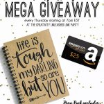 Handlettered Journal & Amazon Giveaway with CU No. 135