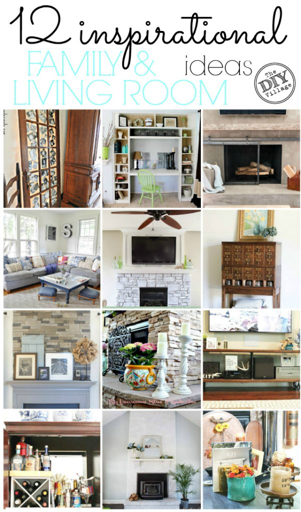 12 Inspirational Family Living Room Ideas The DIY Village
