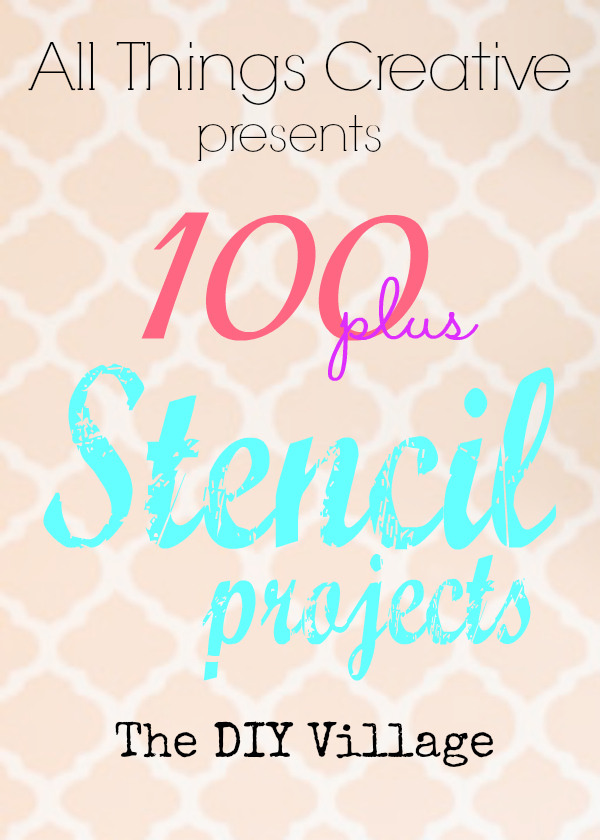 These aren't your grandma's stencils! OVER 100 creative ideas for using stencils from furniture, to walls, to amazing gift ideas. We've got you covered!
