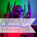 Hello awesome Halloween Decor! I cannot wait to try this at our home and scare some of trick or treaters!