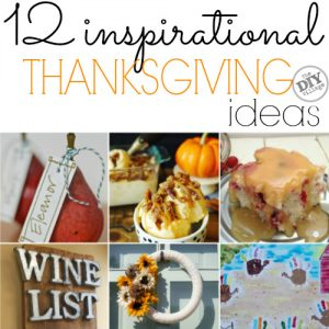 12 inspirational ideas for thanksgiving.