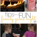 Family Fun – Family Game Night with Young Children