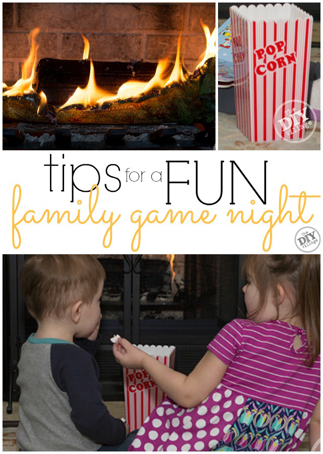 Tips for a fun family game night with young children. It may not be the same as with older kids, but that doesn't mean it can't be fun!