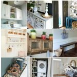 12 inspirational laundry room and foyer ideas and diys