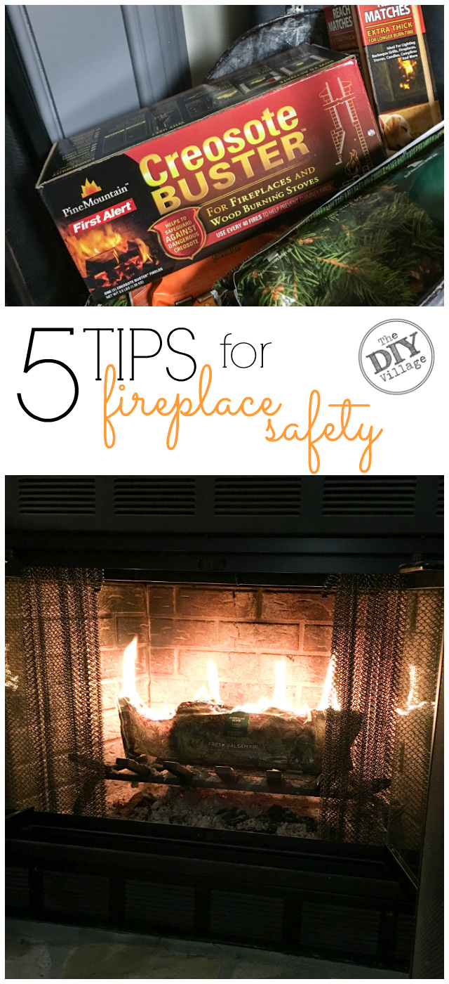 5 Quick Tips For Fireplace Safety The DIY Village