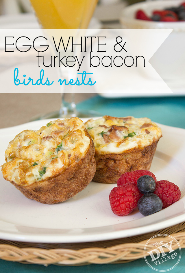 egg white bacon brunch recipe