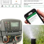 Smart watering technology WiFi smart irrigation controller. A great way to save money on water us while still watering your lawn.