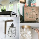 13 Inspirational Home Lighting ideas and diys. One for every room in your home!