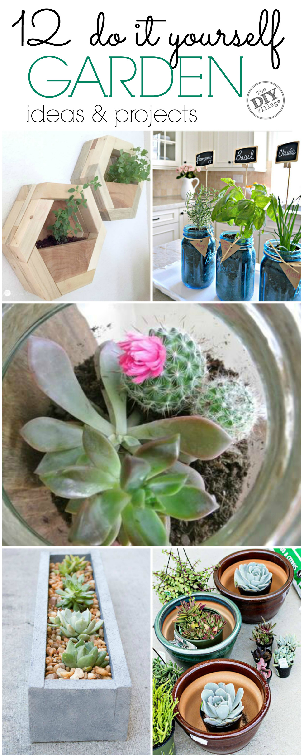 12 incredible diy 39 s for the garden the diy village for Do it yourself garden