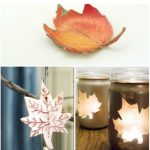 10 Creative leaf inspired projects for fall.