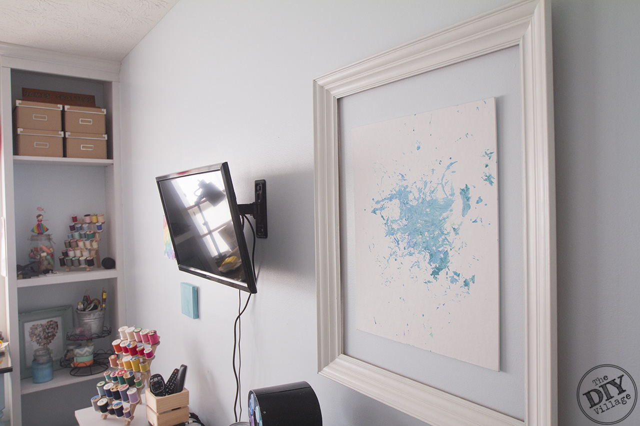 Wall Mounted TV Installation Made Easy in a multi purpose room