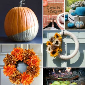 Eleven Simple Fall crafts to help you decorate and get ready for Fall!