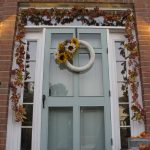 Fall home tour ... easy porch decor.