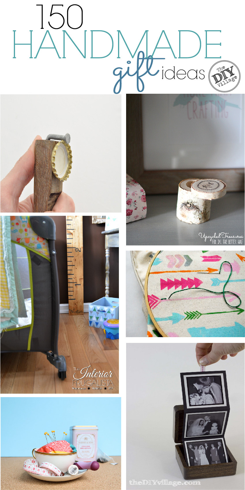 Handmade Gift Ideas The Diy Village