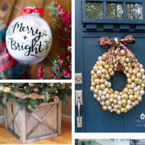 100 creative Christmas tree and wreath ideas for everyone. #christmas #decor #wreath #ChristmasTree