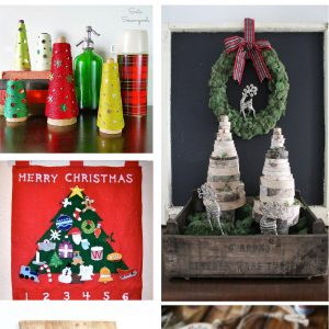 12 inspiration Christmas tree and decor ideas. #christmasdecor #diychristmas #christmastrees #DIYHousewives