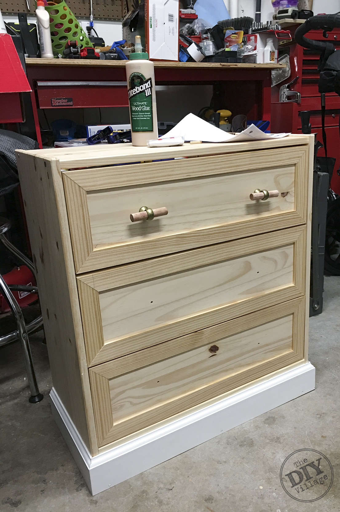 IKEA RAST Makeover from dresser to sophisticated nightstand. Easy and inexpensive project. LOVE this look, must try! #Ikeahack #Ikearast #rastmakeover #nightstand