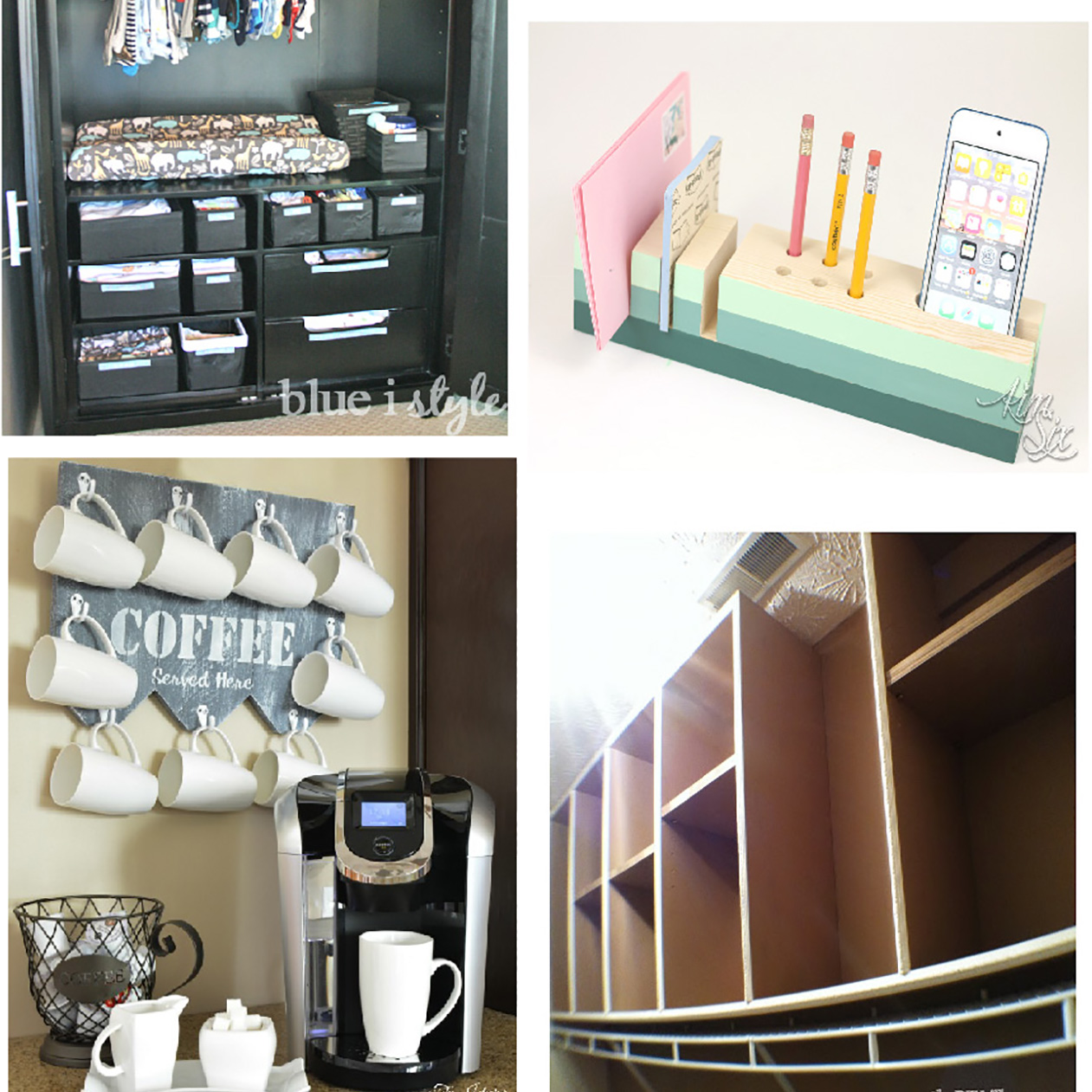 100 39 s of creative organization ideas for your home the