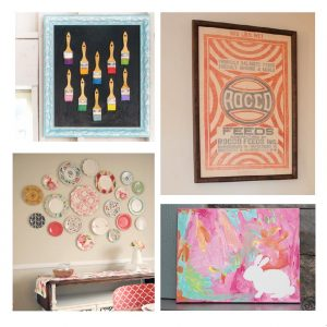 Creative wall art ideas for everyones home.