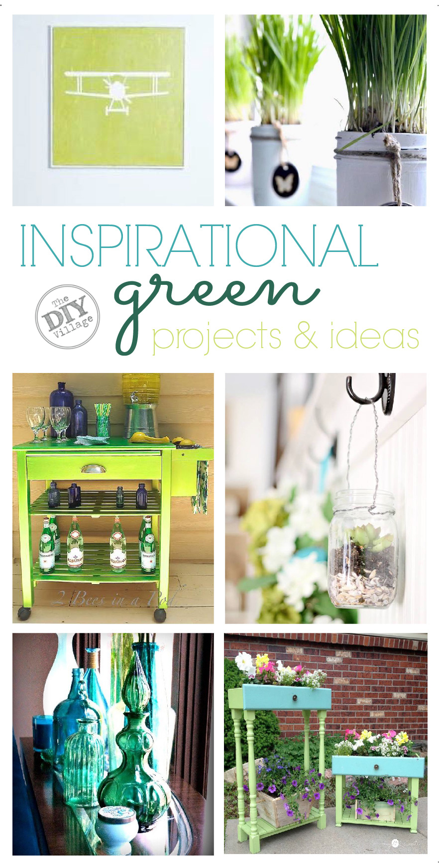 Eleven Green inspirational projects and ideas.