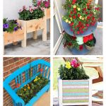 12 Inspirational Flowering Container Garden Projects & Ideas
