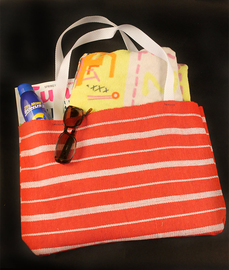 Easy Dollar Store tote bag - 10 Spring Dollar Store Crafts