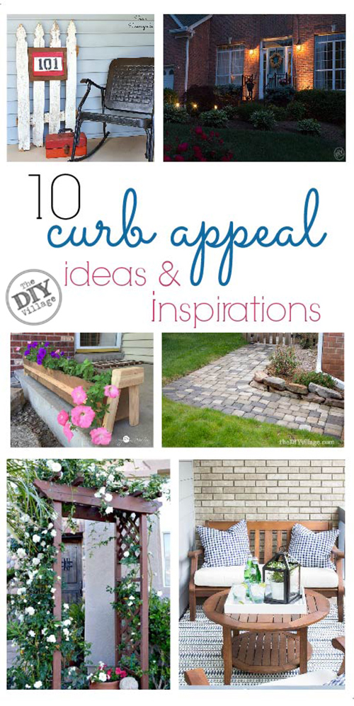 10 curb appeal ideas and inspirations. Something for every home.
