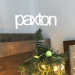 Custom name tree topper for small Christmas Trees.