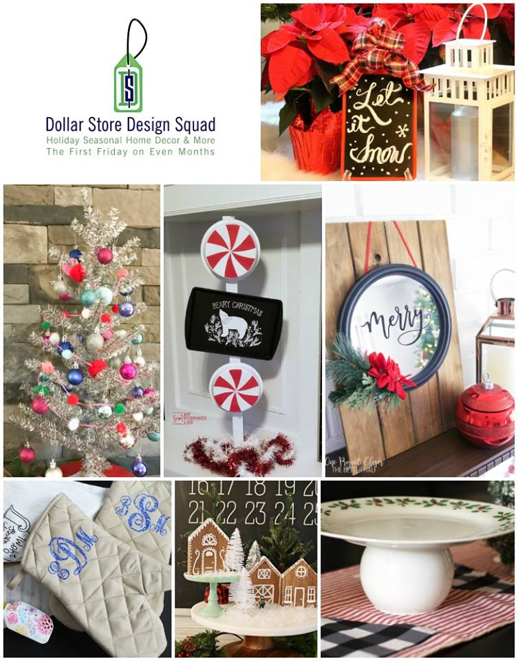 Easy and beautiful dollar store holiday ideas and crafts.