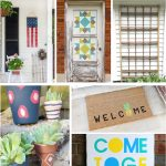 10 great ideas and inspirations for getting your outdoors ready. #summer #outdoordecor #outdoordiy