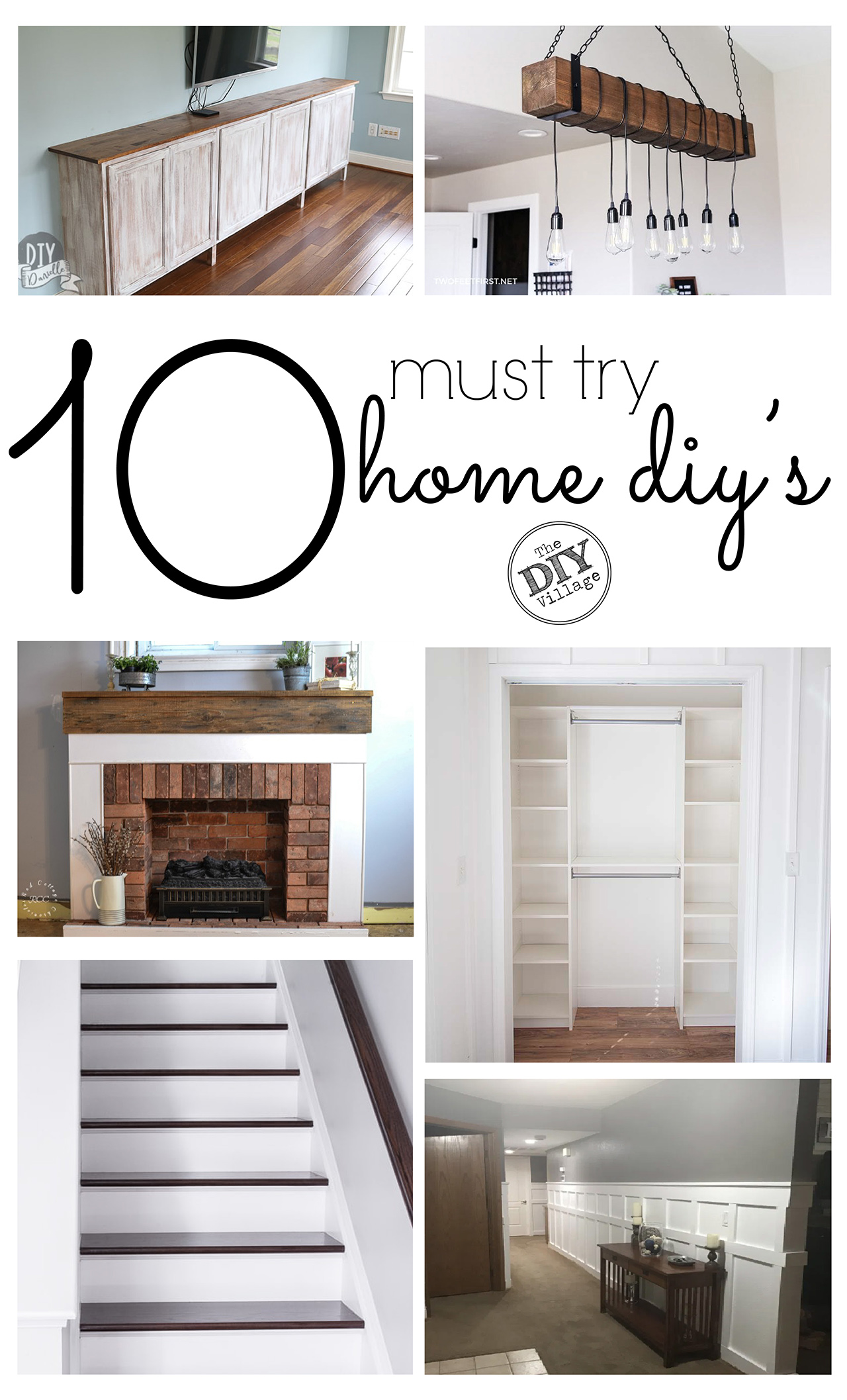 Improve your home with 10 must try DIY's