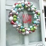 Colorful Ornament Wreath for the Holidays