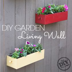 diy garden living wall sq
