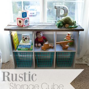 industrial rustic storage cubes for nursery 1a